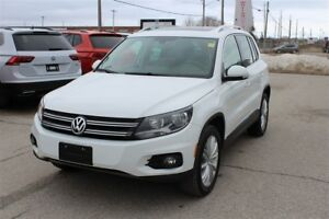 2015 Volkswagen Tiguan LEATHER, PANORAMIC SUNROOF