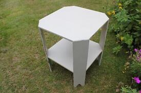 Hand painted retro 1970's small table