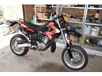 Aprilia mx 125 supermoto not rs 125 dt 125 sx 125 ktm honda