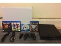 Sony Playstation 4 500GB PS4 Boxed with 1 controller and 4 games