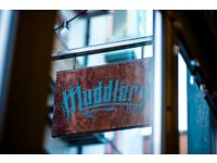 Waiting staff required- MUDDLERS CLUB BELFAST