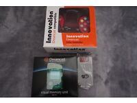 DREAMCAST NEW BOXED FIGHTING CONTROLLER + VMU + RUMBLE PACK