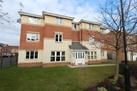 Fully furnished 2 Bedroom Ground floor Flat, Fitted bedroom.