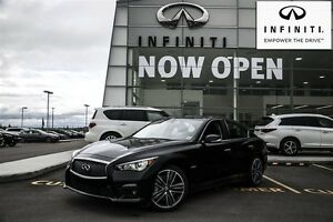 2014 Infiniti Q50 AWD Hybrid Premium Deluxue Technology  and Spo