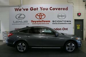2014 Honda Crosstour EXL WITH NAVIGATION LOW MILEAGE London Ontario image 3