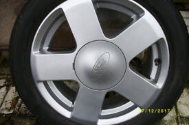 15 inch Alloy Wheel rim and tyre