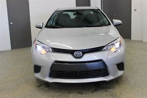 2015 Toyota Corolla LE - Accident free, Backup camera