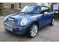 MINI COOPER CONVERTABLE,67000 MILES,FULL MOT.
