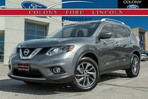 2016 Nissan Rogue 1 OWNER, NAV, MOONROOF, LEATHER!