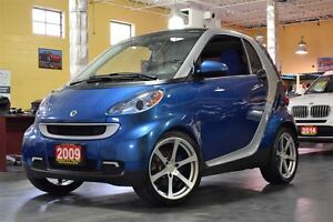 2009 smart fortwo Passion Power Group, Panoramic Roof 17Alloys