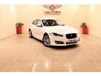 JAGUAR XF 2.2 D R-SPORT 4d AUTO 200 BHP NO DEPOSIT NEED - DRIVE AWAY TODAY (white) 2014