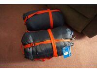 2X Gelert Escape 300 SQ Sleeping Bags(2 SEASON)