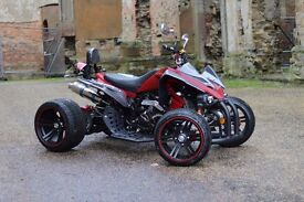 NEW 2017 250CC RED ROAD LEGAL QUAD BIKE ASSEMBLED IN UK 66 PLATE OUT NOW!! FREE NEXT DAY DELIVERY