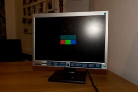 Old VGA monitor, still works and includes power cable