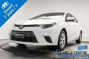 2015 Toyota Corolla LE CAMERA BLUETOOTH BANCS CHAUFF.