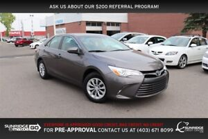2016 Toyota Camry LE, BLUETOOTH, CRUISE CONTROL, AUX