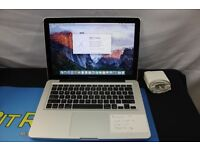 APPLE MACBOOK PRO 15 LAPTOP,INTEL CORE I7 2.0GHZ,320GB HDD,4GB RAM,WITH EXTRAS