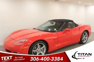 2007 Chevrolet Corvette Auto|Low Kms|Red|PST Paid