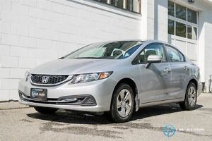 2015 Honda Civic LX! Local! No Accidents! Easy Approvals!