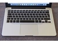 APPLE MACBOOK PRO RETINA INTEL CORE I5 2.5GHZ 8GB RAM 128GB FLASH WIFI WEBCAM