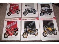 ESSENTIAL SUPERBIKES MOTORCYCLE FILES' JOB LOT' CAR BOOT' AUTO JUMBLE Honda, Yamaha, BMW, etc.