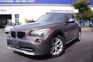 2012 BMW X1 28i, 2.0L, 4Cyl, AWD, Pano Roof, E-Tested & Certif