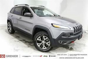 2016 Jeep Cherokee Trailhawk*Cuir, toit ouvrant, Navigation*