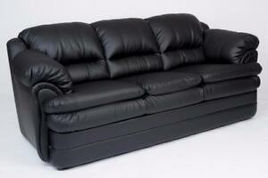 BLACK SOFA SALE- BEST DESIGNS AT LOWEST PRICE (ID 134)