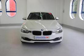 BMW 3 SERIES 318d SE 4dr Step Auto [Professional Media] (white) 2013