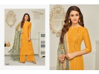 SAMAIRA FASHION AABIDA COTTON CASUAL WEARDRESS MATERIALS DEALER FROM SURAT