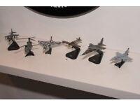 Diecast Joblot RAF Spitfire Vulcan Harrier Chinook Jaguar Eurofighter unboxed