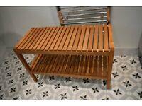 Bench, Birch, MOLGER IKEA 79x28cm, £20