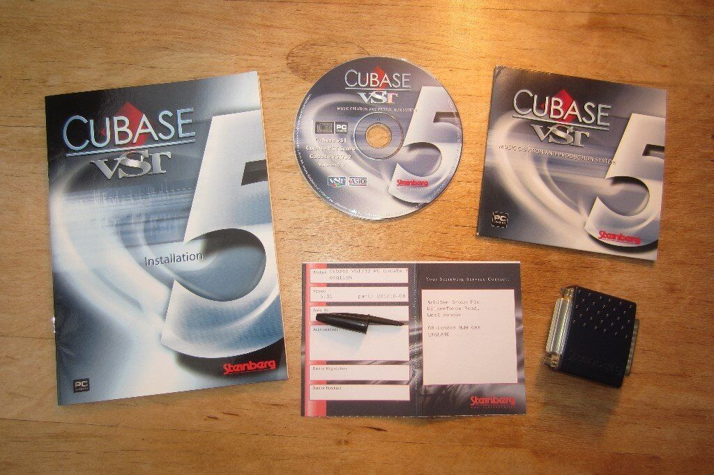 Steinberg Cubase VST Version 5 (Windows PC)