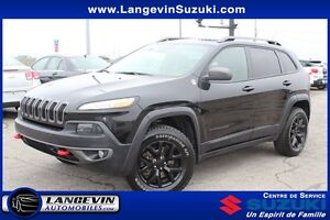 2014 Jeep Cherokee Trailhawk/V6/CUIR/GPS/TOIT  OUVRANT
