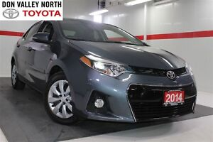 2014 Toyota Corolla S Btooth BU Camera Heated Seats Cruise