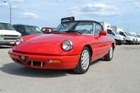 1991 Alfa Romeo Spider Convertible ETESTED&SAFETY