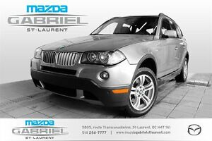 2007 BMW X3 3.0si + PANOROOF LEATHER