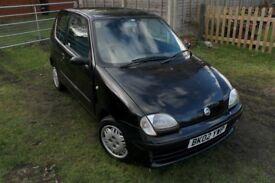 2002 Fiat Seicento SX 1.1 - Black