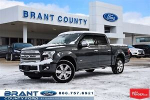 2016 Ford F-150 Platinum - LOADED, HEATED SEATS, REMOTE START!