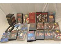 A COLLECTION OF QUEEN FREDDIE MERCURY VHS VIDEO TAPES