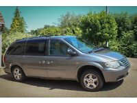 LARGE LUXURY AUTOMATIC MPV CHRYSLER GRAND VOYAGER EXECUTIVE LX CRD