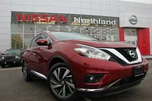 2015 Nissan Murano Platinum/ Back up Camera/ Heated & Cooled Sea