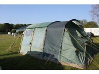 BIG FAMILY TENT - 6 berth tent (fly sheet and Carpet included) - Attwoolls Frampton