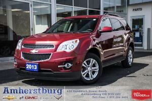 2013 Chevrolet Equinox NAVIGATION, HEATED LEATHER SEATS
