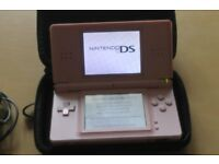 nintendo ds and 5 game bundle
