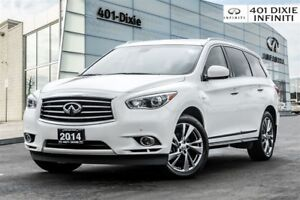 2014 Infiniti QX60 WOW! HYBRID! TECH! DVD! NAVI! LOW KMS!