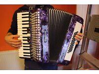 Gallini Piano Accordion with Case