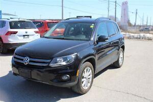2015 Volkswagen Tiguan 4MOTION, PANORAMIC SUNROOF, HEATED SEATS