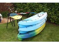 Three (3) Sit on top Ocean Frenzy Kayak's £150 (per Kayak) £400 (for all 3)