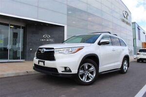 2014 Toyota Highlander Limited Limited|SUNROOF|HEATED&COOLED...